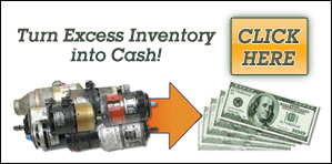 We Buy Excess Starter Generator Inventory! StarterGenerator.com - Turn your excess inventory into cash