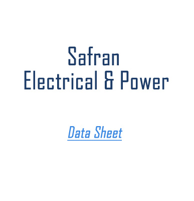 Safran Electrical and Power Data Sheet