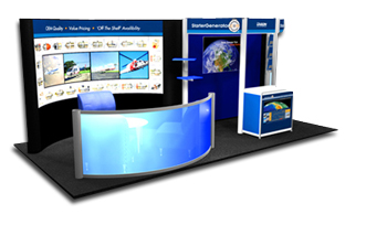 Exhibit Booth (Trade Shows)